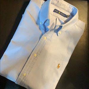 POLO RALPH LAUREN Oxford Men's Shirt. Size Large
